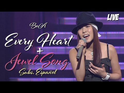 BoA   Every Heart + Jewel Song (LIVE + Subs. Español) Japan Golden Disc Awards 2004-03-12