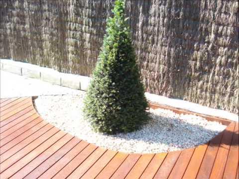 Jardineras de madera de exteriores youtube - Madera para exteriores ...
