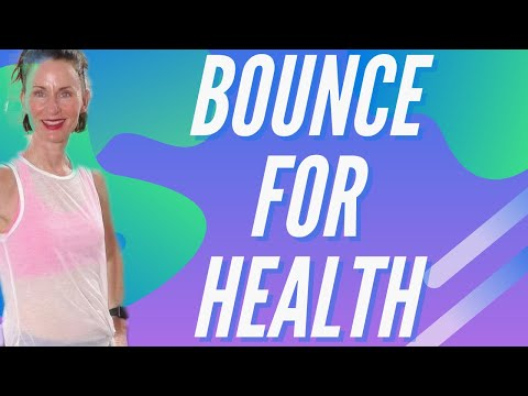 40 MINUTE WORKOUT | REBOUNDER INTERVAL CIRCUIT WORKOUT | MINI TRAMPOLINE ROUTINE| BOUNCE FOR HEALTH