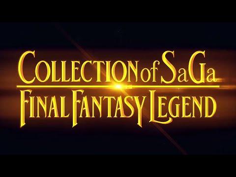 COLLECTION of SaGa FINAL FANTASY LEGEND   Official TGS Trailer
