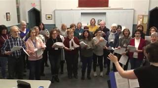 Richmond Hill Choir sings Somewhere Only We Know