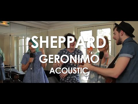 Sheppard - Geronimo- Acoustic [ Live in Paris ]