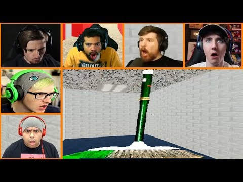 Let's Players Reaction To Gotta Sweep Sweep Sweep   Baldi's basics in education and learning