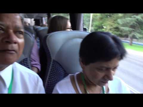 Aruna & Hari Sharma on Sightseeing Tour of Madrid City National Library, Sep 06, 2018
