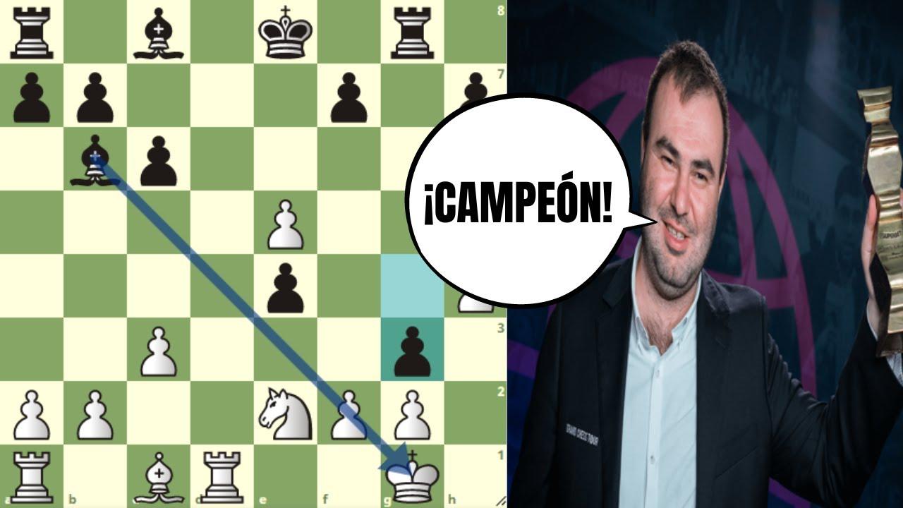 🏆 CAMPEÓN JUGANDO A NIVEL DE CASI 2900: Mamedyarov vs Caruana (Superbet Chess Classic)