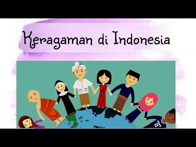 Kelas 5| Tema 3| Subtema 3| PPKn | Keragaman di Indonesia