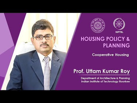 Lecture 28- Cooperative Housing