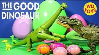 new the good dinosaur poppa henry vs giant t rex jurassic world disney pixar unboxing wd toys