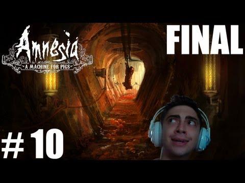 Amnesia: A Machine For Pigs - O CORAÇÃO! - Parte 10 / FINAL