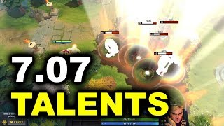 7.07 DOTA 2 - BEST IMBA TALENTS - DUELLING FATES PATCH
