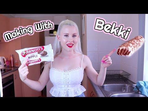 Baking With Bekki | Choc Ripple Cake
