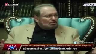 Professor Heydər Baş: Elçibəy sarhoş