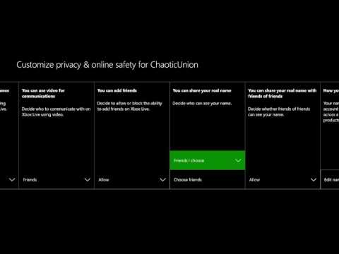 How to Manage your Privacy & Online Safety Settings on Xbox One