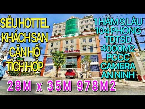 810⭐Bán Hottel Khách Sạn Tân Bình, 28mx35m 937m2 TDTS 4000m2 Hầm 9 Lầu 104 Phòng PCCC Camera An Ninh
