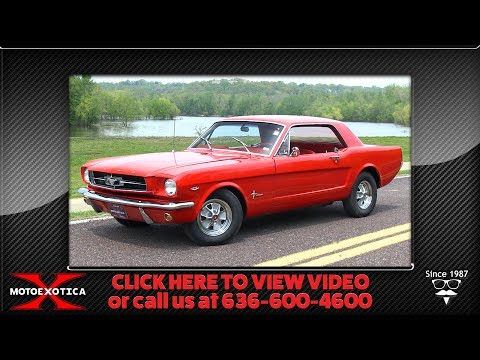 1964½ Ford Mustang || For Sale