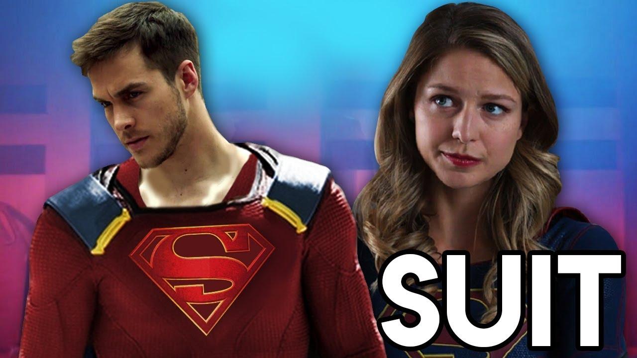 Mon Els Suit Has The House Of El Symbol Supergirl 3x15 Suit