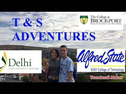 T & S adventures: COLLEGE VISITS