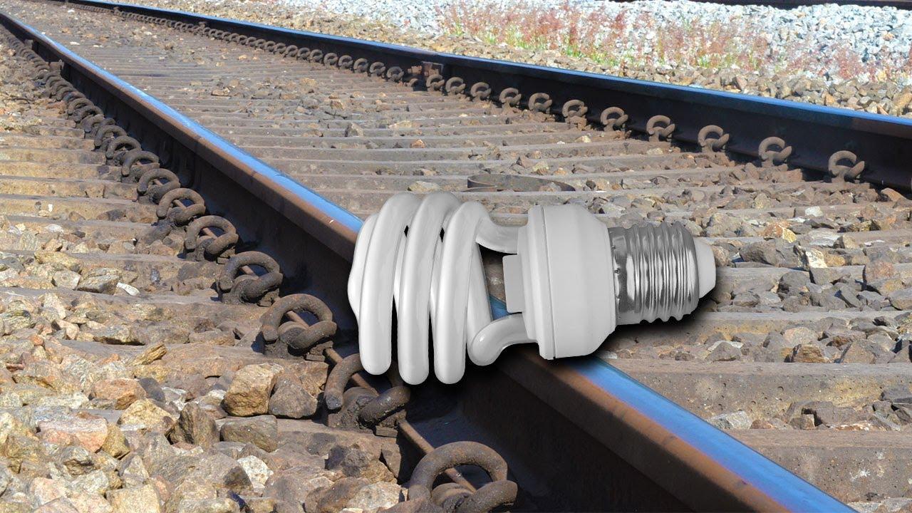 Train Vs CFL Bulb Test