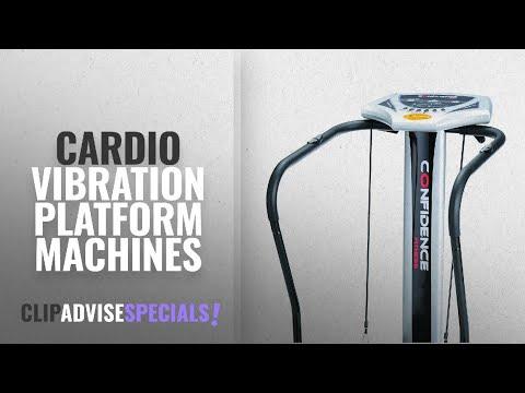 10 Best Cardio Vibration Platform Machines : Confidence Fitness Slim Full Body Vibration Platform