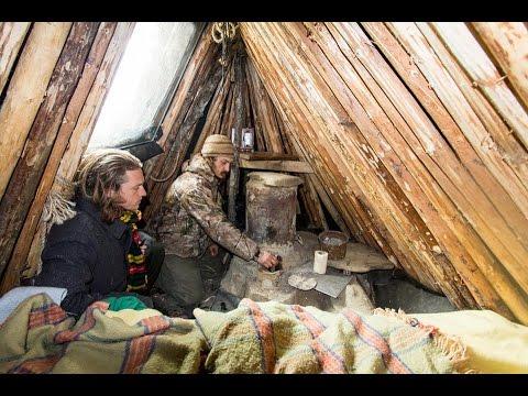Bush Camp Long Term Winter Survival Shelter Course
