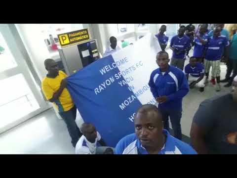 Rayon Sport: Abanyarwanda baba Mozambique buzuye ku kibuga kindege cya Maputo