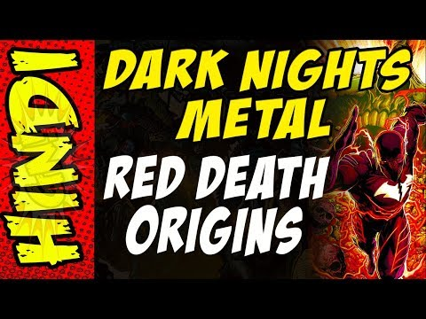 DARK NIGHTS METAL TIE IN - RED DEATH ORIGINS - FLASH FUSES WITH BATMAN
