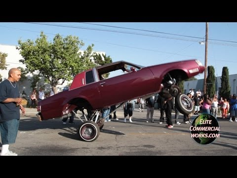 VAN NUYS LOWRIDER HOPPING TILL THE WHEEL FALLS OFF!