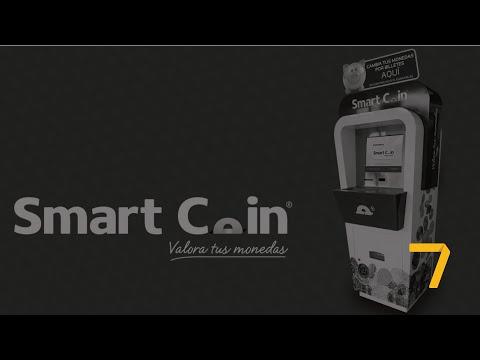 ¡No Más Monedas! Smart Coin Diseñó Un Modelo Para Cambiarlas Por Billetes En Sólo Minutos