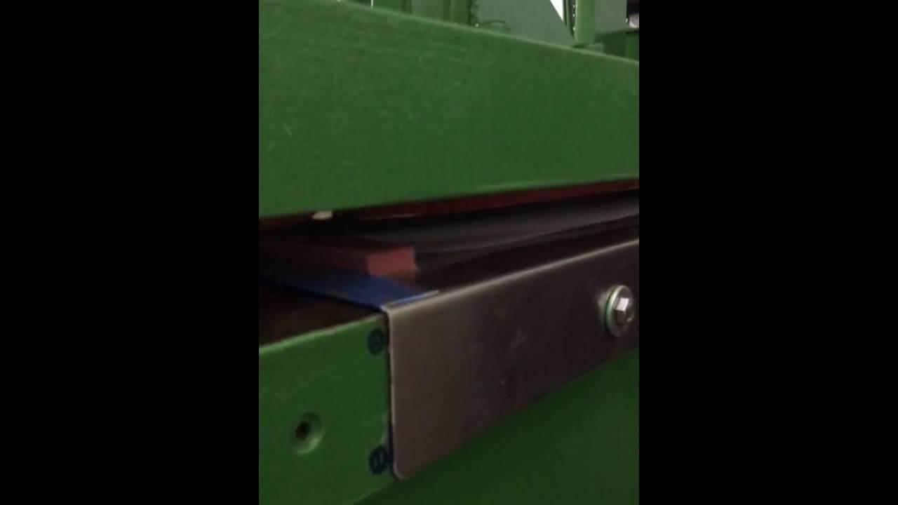 Authentic jigsaw puzzle making using original 1982 press machine