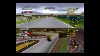 Rig Racer 2 PS2 Multiplayer Full Playthrough (Data Design / Metro 3d) Playstation 2