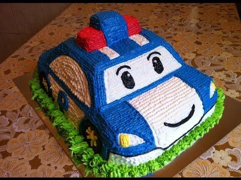 Двухъярусный детский торт с мишкой / Bunk childrens cake with Teddy bear - Я - ТОРТодел!