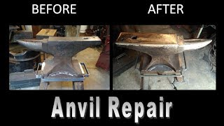 How to Repair An Anvil: Resurface An Anvil for Optimal Anvil Restoration