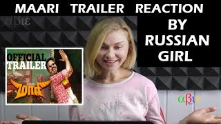 maari trailer reaction by ukrainian girl dhanush kajal agarwal