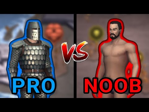 Grim Soul PRO VS NOOB – Grim Soul Dark Fantasy Survival