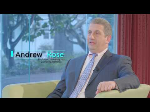 Professor Andrew K. Rose Talks Trade and the Economics Profession