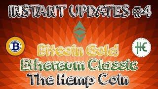 Instant Updates on Bitcoin Gold (BTG)/Ethereum Classic (ETC)/The Hemp Coin (THC) in Hindi Urdu