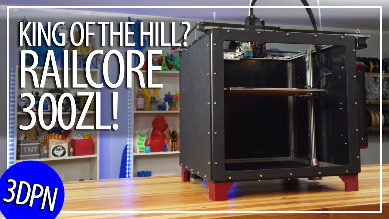 Railcore Ii 300zl Project R3d 3d Printer Kit Review By 3d