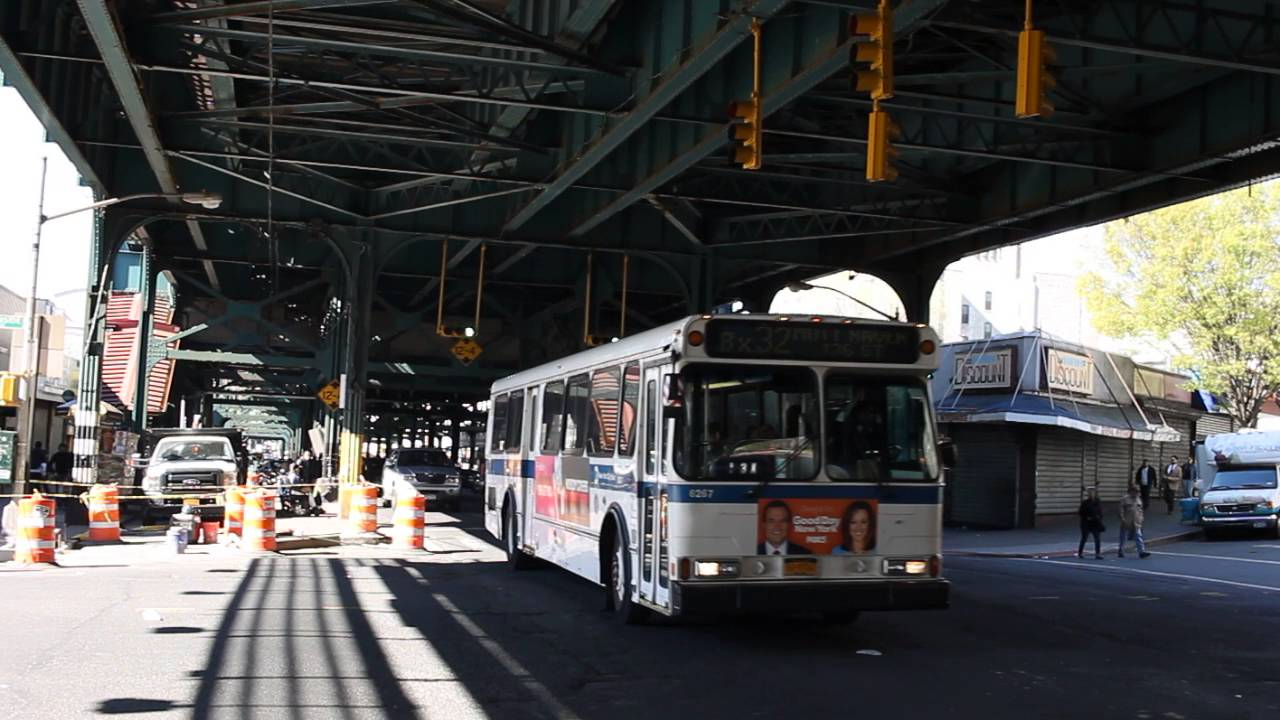 Mta New York City Bus Orion V 6267 On The Bx32 Youtube