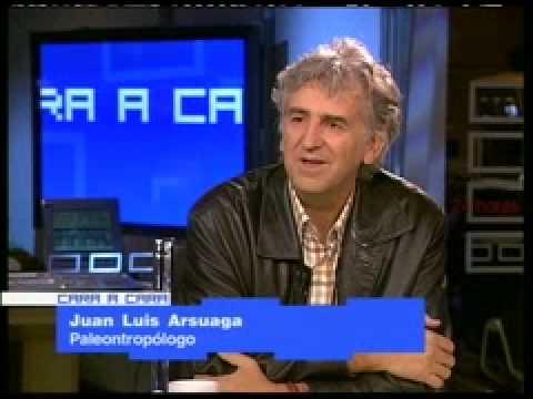 Mi primer libro de la Prehistoria - Entrevista Juan Luis Arsuaga CNN+ (1/4)