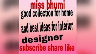 Good collection for home/ best ideas for interior designer / textile designer