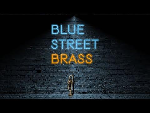 Indiginus Blue Street Brass
