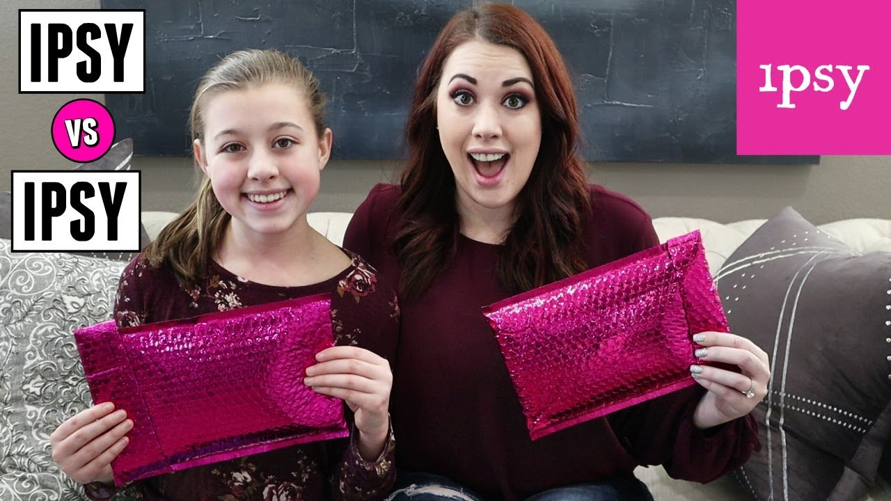 Mom Vs Teen Ipsy Makeup Unboxing