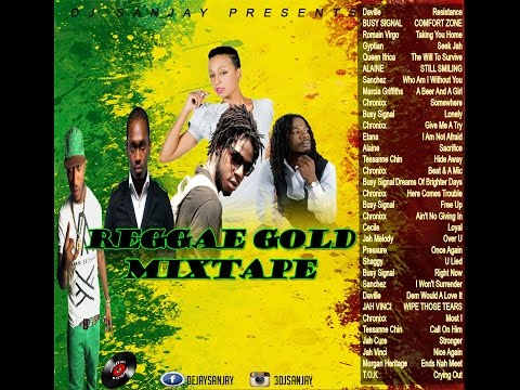 Reggae Gold Mixtape (September 2016) Chronixx, Busy Signal, JahCure and more.