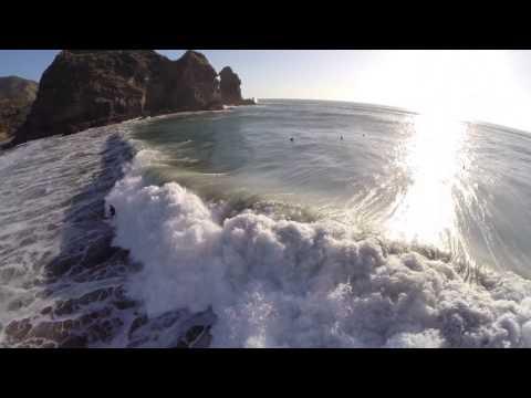 Piha Surf Beach NZ Aerial Drone