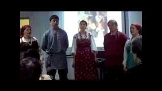видео: Анс. БЛАГОДАТЬ Псальма Вот счастливый вам путь