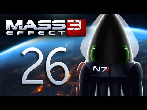 Mass Effect 3 ~Part 26~ Citadel DLC: Final Fight with Clone Shepard and OMG EDI YOUR EYE!