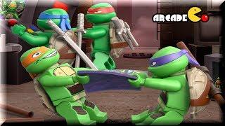 LEGO TEENAGE MUTANT NINJA TURTLES - Turtles Ninja Training - Lego Movie Game