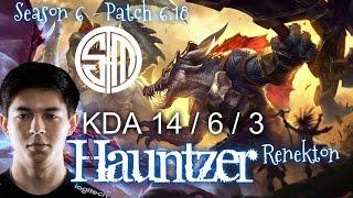 TSM Hauntzer RENEKTON vs IRELIA Top - Patch 6.18 KR Ranked | League of Legends