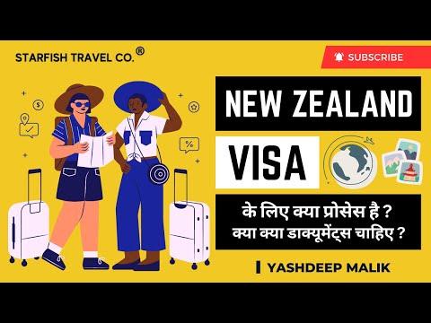 Visa Process & Documentation for New Zealand (India Citizens)
