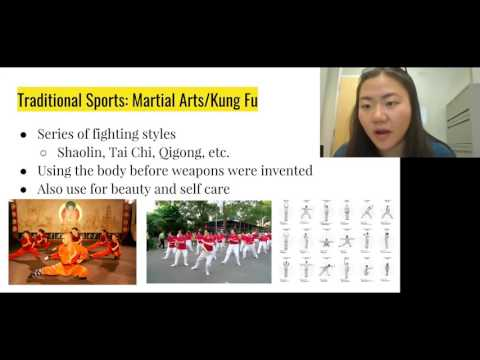 """Sports in China"" Virtual Presentation"